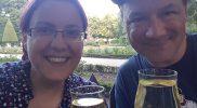 Der erste Wein beim Weinfest